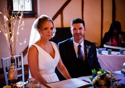 Dan and Gemma's Wedding Photography at Bedford Barns Hotel Wedding Venue, Bedfordshire - Ryan Hughes Photography - 90