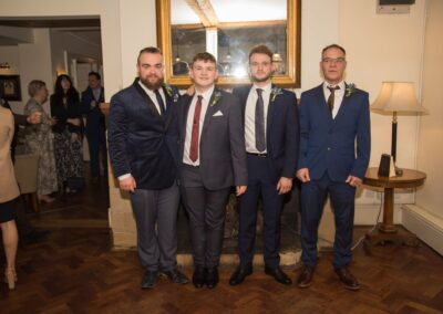 Dawn and Stuart's Wedding Photography - The George Hotel, Buckden, Huntingdon, Cambridgeshire - Ryan Hughes Photography - 193