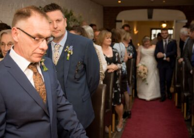 Dawn and Stuart's Wedding Photography - The George Hotel, Buckden, Huntingdon, Cambridgeshire - Ryan Hughes Photography - 27
