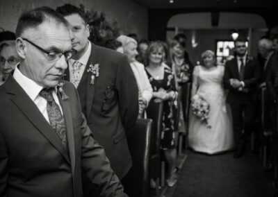 Dawn and Stuart's Wedding Photography - The George Hotel, Buckden, Huntingdon, Cambridgeshire - Ryan Hughes Photography - 28