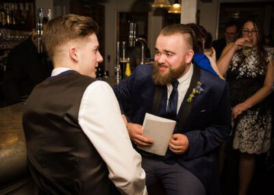 Dawn and Stuart's Wedding Photography - The George Hotel, Buckden, Huntingdon, Cambridgeshire - Ryan Hughes Photography - 315