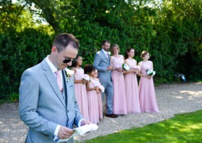 John and Lauren Draper - Tewin Bury Farm - August 2017 - Wedding Photography Shot by Ryan Hughes Photography - -27