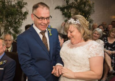 Ryan Hughes Photography - Wedding Photography - Bride and Groom Exchanging Rings-01